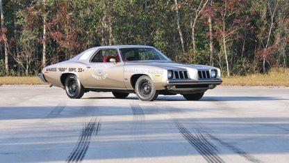 1973 Pontiac Grand Am Silver Anniversary