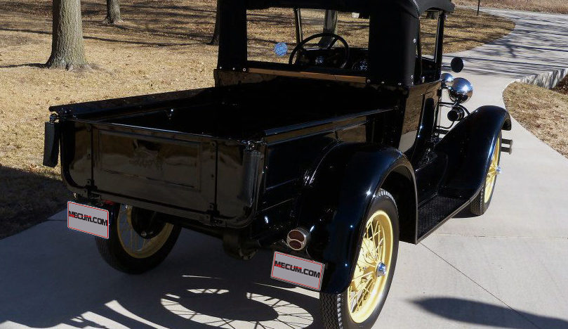 1929 Ford Model A Pickup Frame-off Restoration presented as lot F29 at Kansas City, MO 2013 - image2