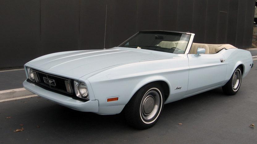 1973 Ford Mustang Convertible 351 CI, Automatic presented as lot F115 at Kansas City, MO 2013 - image8