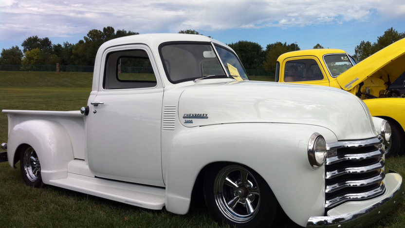 1950 Chevrolet 3100 Pickup 350/400 HP presented as lot F130 at Kansas City, MO 2013 - image3