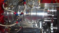 1957 Chevrolet Bel Air Pro Street 461 CI, BDS Blower presented as lot F142 at Kansas City, MO 2013 - thumbail image6
