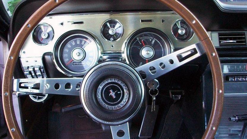 1967 Ford Mustang 390/320 HP, Special Order Paint presented as lot F171 at Kansas City, MO 2013 - image4