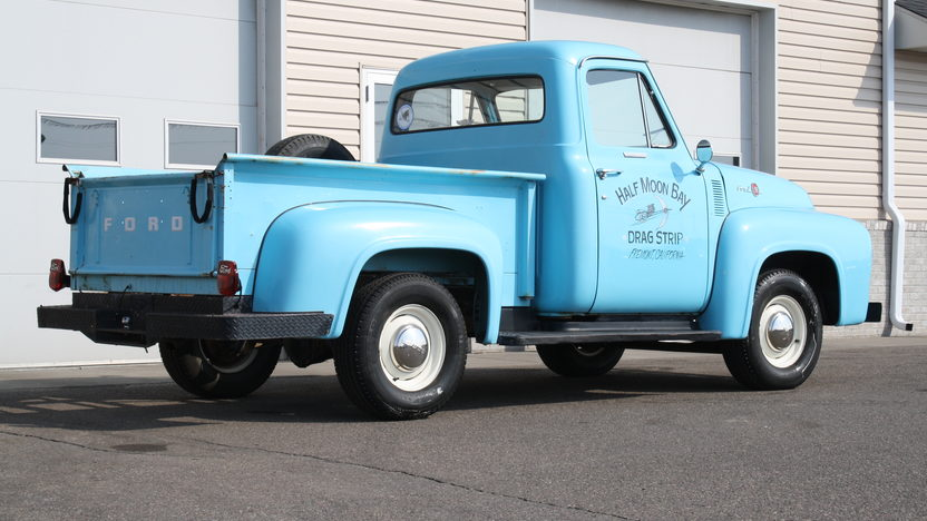 1955 Ford F100 Pickup 239 CI, 4-Speed presented as lot S26 at Kansas City, MO 2013 - image3