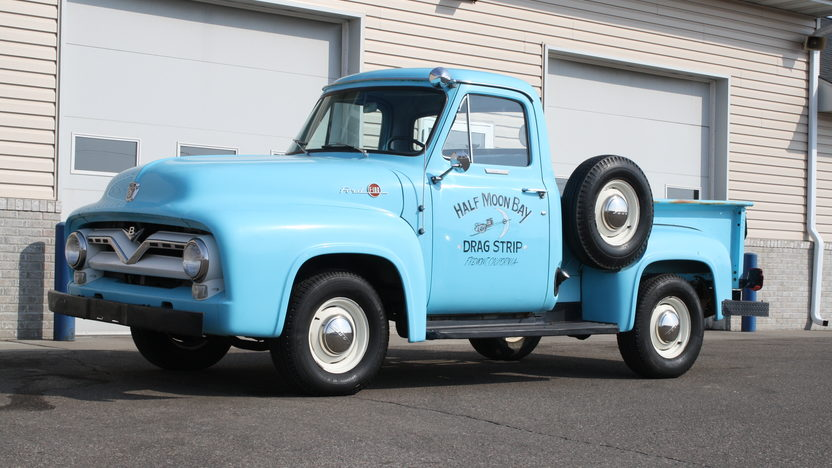 1955 Ford F100 Pickup 239 CI, 4-Speed presented as lot S26 at Kansas City, MO 2013 - image6