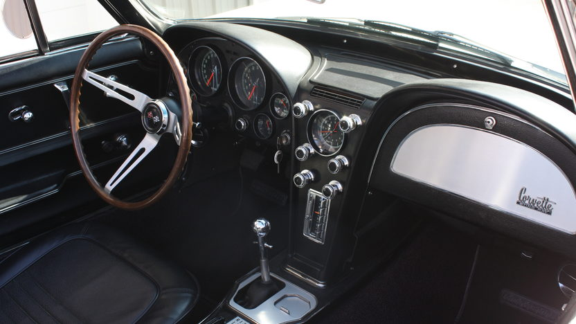 1967 Chevrolet Corvette Convertible 327/350 HP, 4-Speed presented as lot S105 at Kansas City, MO 2013 - image3