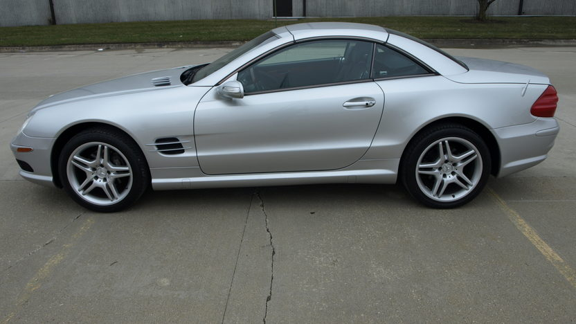 2004 Mercedes-Benz SL500 AMG Convertible presented as lot S115 at Kansas City, MO 2013 - image2