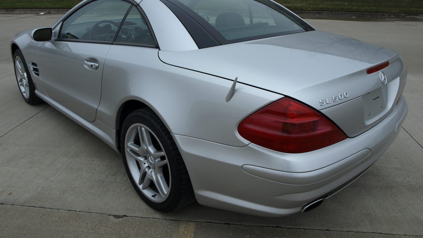 2004 Mercedes-Benz SL500 AMG Convertible presented as lot S115 at Kansas City, MO 2013 - image3