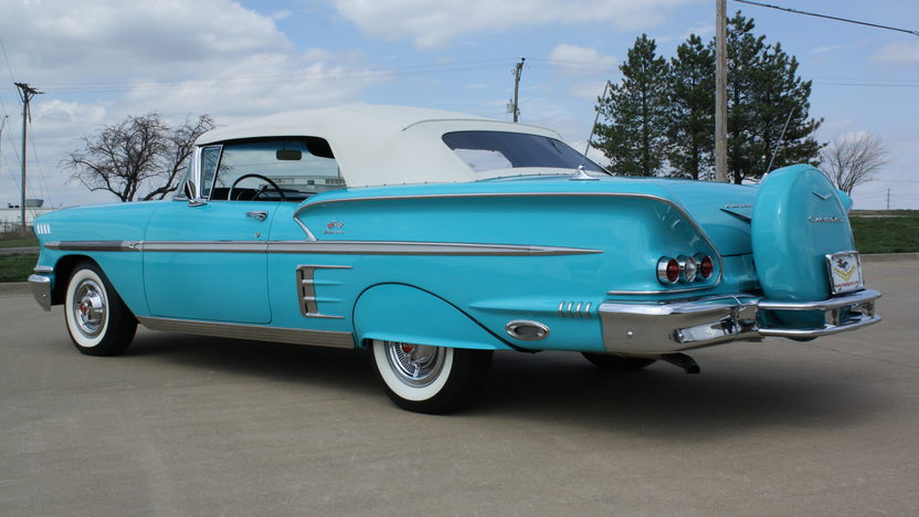 1958 Chevrolet Impala Convertible 348 CI, Automatic presented as lot S116 at Kansas City, MO 2013 - image2