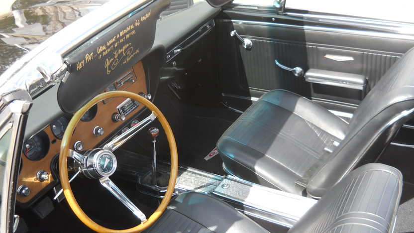 1966 Pontiac GTO Convertible 428/475 HP, 4-Speed presented as lot S194 at Kansas City, MO 2013 - image3