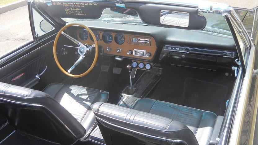 1966 Pontiac GTO Convertible 428/475 HP, 4-Speed presented as lot S194 at Kansas City, MO 2013 - image5