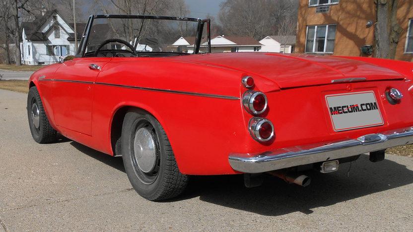 1967 Datsun 1600 Roadster presented as lot T67 at Kansas City, MO 2014 - image2
