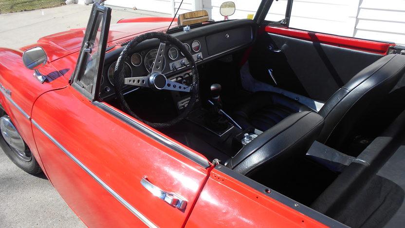 1967 Datsun 1600 Roadster presented as lot T67 at Kansas City, MO 2014 - image3