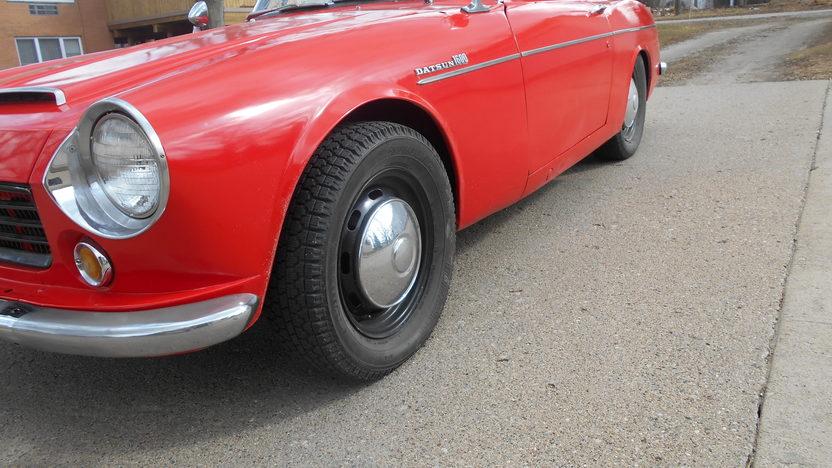 1967 Datsun 1600 Roadster presented as lot T67 at Kansas City, MO 2014 - image5