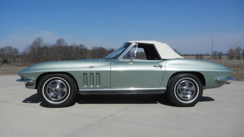 1966 Chevrolet Corvette Convertible 327/300 HP, 4-Speed presented as lot S68 at Kansas City, MO 2014 - image2