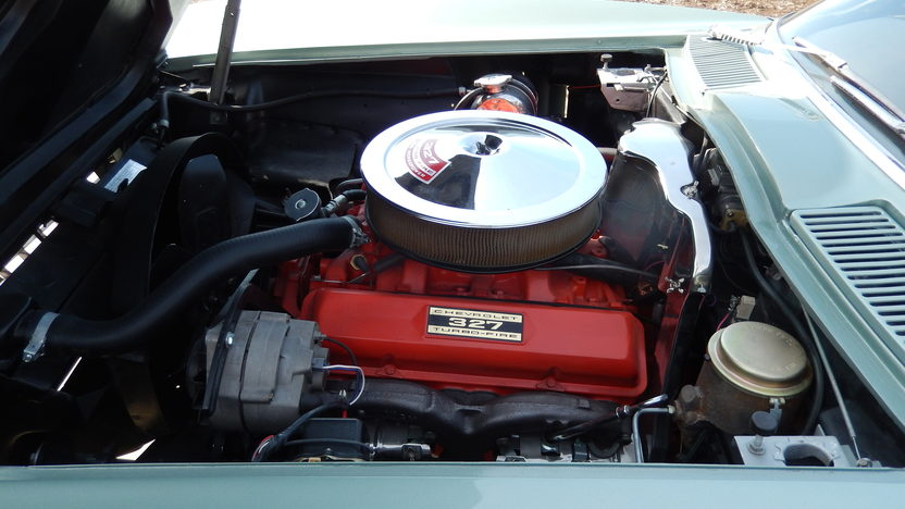 1966 Chevrolet Corvette Convertible 327/300 HP, 4-Speed presented as lot S68 at Kansas City, MO 2014 - image7