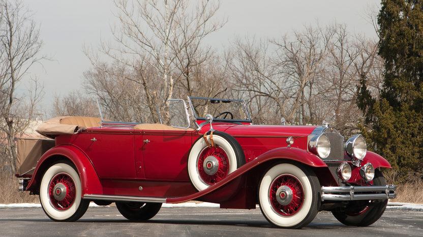 1931 Packard Deluxe Eight Dual Cowl Sport Phaeton