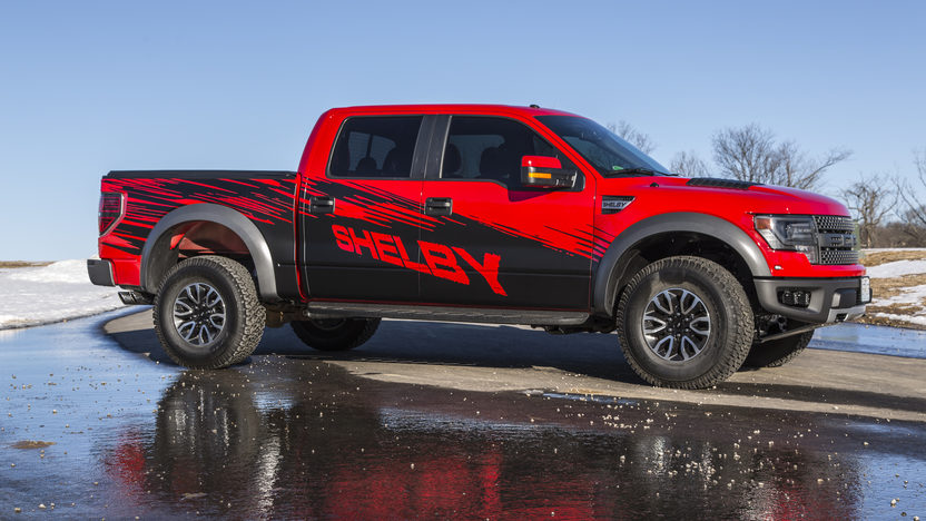 2013 Ford Shelby Raptor Pickup 6.2/575 HP, 2,100 Miles presented as lot S113 at Kansas City, MO 2014 - image10