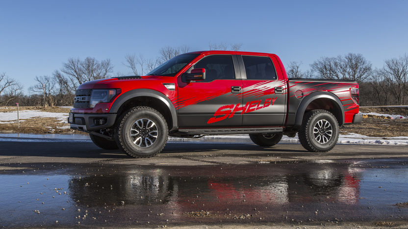 2013 Ford Shelby Raptor Pickup 6.2/575 HP, 2,100 Miles presented as lot S113 at Kansas City, MO 2014 - image2