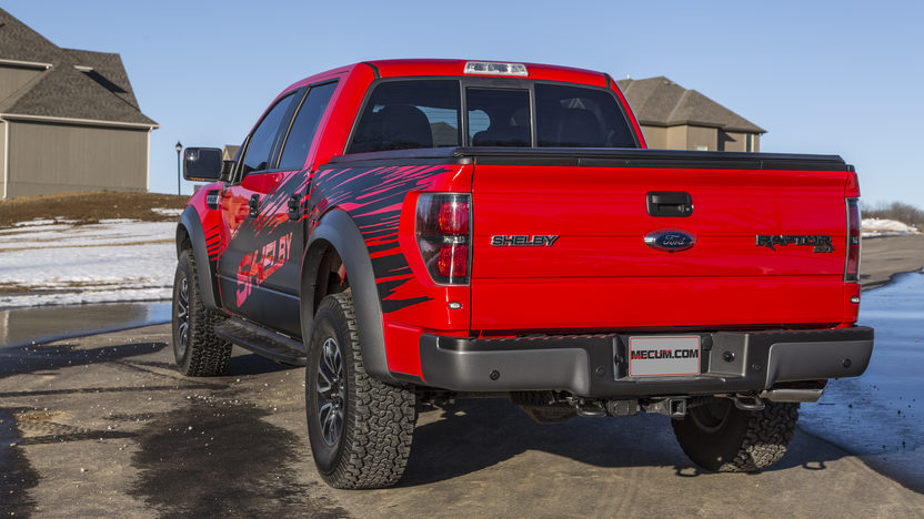 2013 Ford Shelby Raptor Pickup 6.2/575 HP, 2,100 Miles presented as lot S113 at Kansas City, MO 2014 - image3