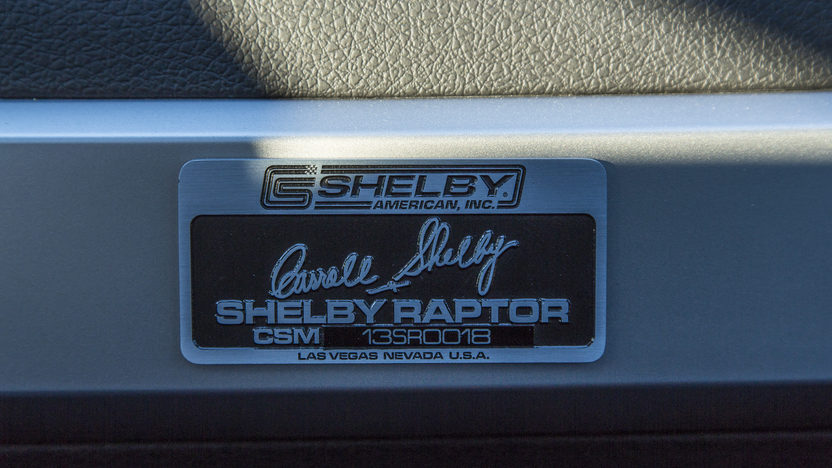 2013 Ford Shelby Raptor Pickup 6.2/575 HP, 2,100 Miles presented as lot S113 at Kansas City, MO 2014 - image7
