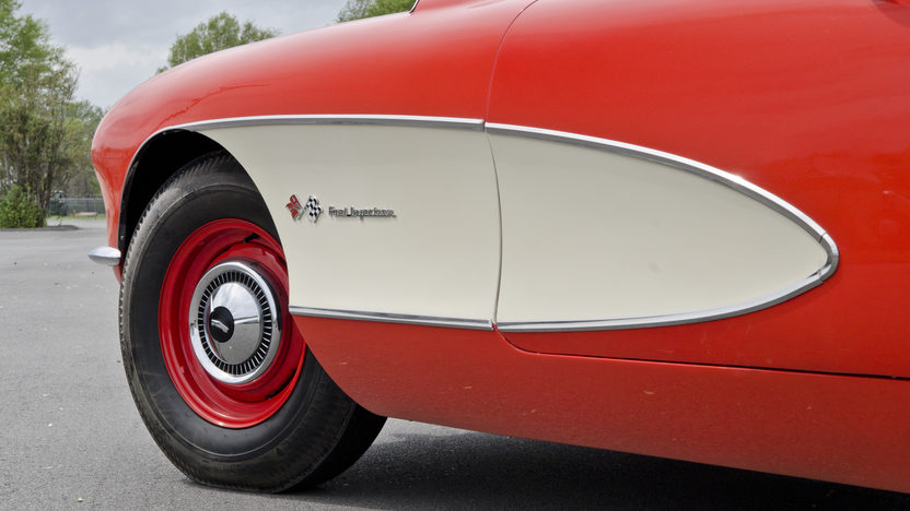 1957 Chevrolet Corvette Convertible 283 CI, 4-Speed presented as lot S114.1 at Kansas City, MO 2014 - image9
