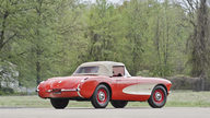1957 Chevrolet Corvette Convertible 283 CI, 4-Speed presented as lot S114.1 at Kansas City, MO 2014 - thumbail image3