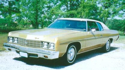 1973 Chevrolet Impala Hardtop