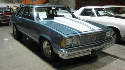 1980 Chevrolet Malibu 2-door Coupe