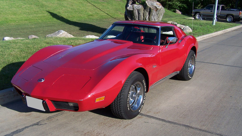 1976 Chevrolet Corvette Coupe 350/180 HP, 4-Speed presented as lot F59 at Kansas City, MO 2009 - image2