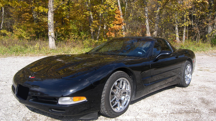 1999 Chevrolet Corvette Coupe 345 HP, Automatic presented as lot F142 at Kansas City, MO 2009 - image3