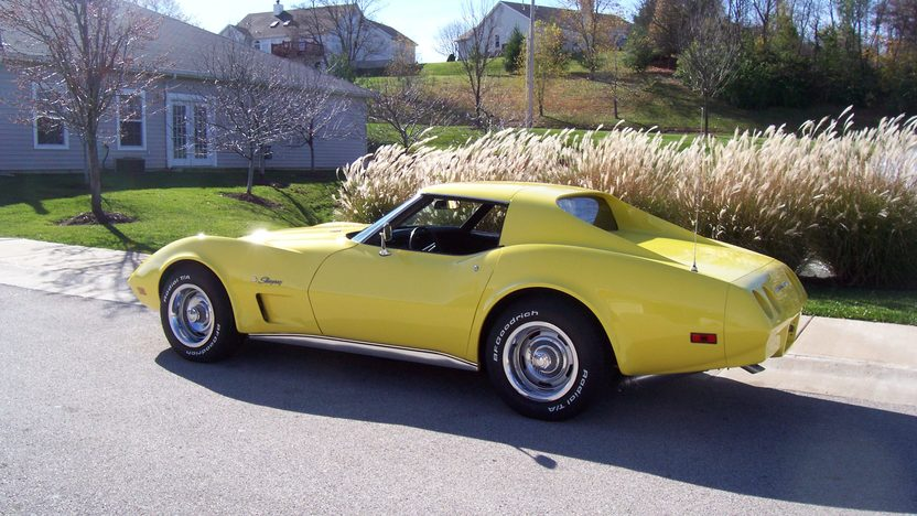 1974 Chevrolet Corvette Coupe 454/270 HP, 4-Speed presented as lot F158 at Kansas City, MO 2009 - image2