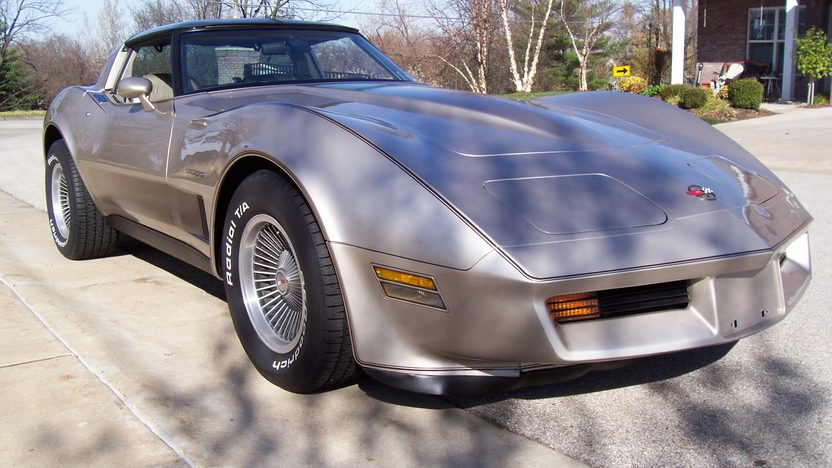 1982 Chevrolet Corvette Collectors Edition 350/200 HP, Automatic presented as lot S31 at Kansas City, MO 2009 - image3