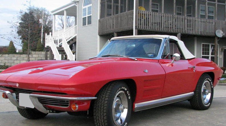 1964 Chevrolet Corvette Convertible 327/300, 4-Speed Manual presented as lot S148 at Kansas City, MO 2009 - image2