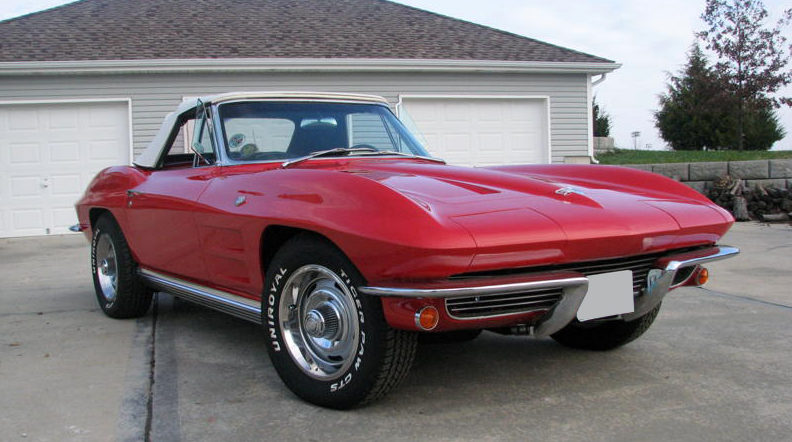 1964 Chevrolet Corvette Convertible 327/300, 4-Speed Manual presented as lot S148 at Kansas City, MO 2009 - image3
