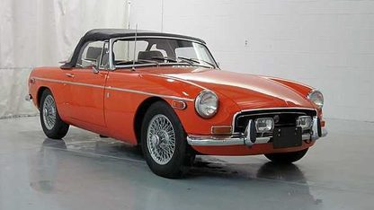 1972 MG MGB Convertible