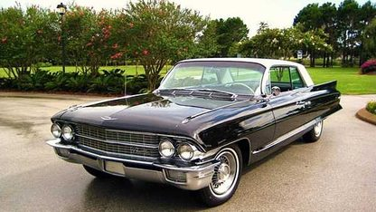 1962 Cadillac Coupe Deville 2-Door
