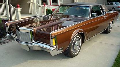 1971 Lincoln Continental Mark III Coupe