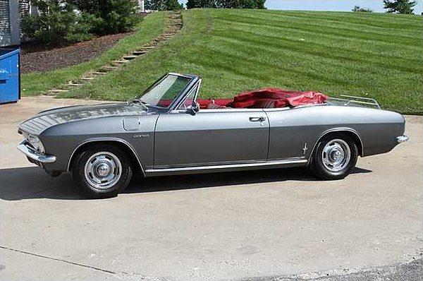 1966 Chevrolet Corvair Convertible 180 HP presented as lot S22 at Kansas City, MO 2010 - image3