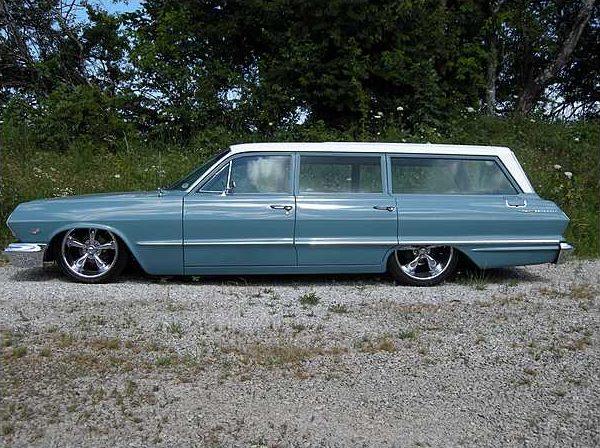 1963 Chevrolet Bel Air Station Wagon