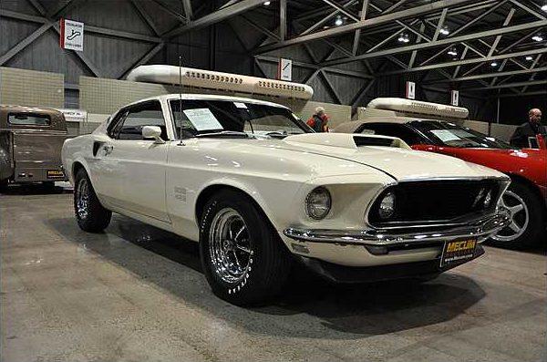 1969 Ford Mustang Boss 429 Fastback KK#1313, NASCAR S-Code, 4-Speed presented as lot S78.1 at Kansas City, MO 2010 - image2