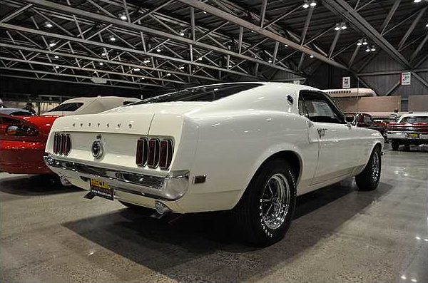 1969 Ford Mustang Boss 429 Fastback KK#1313, NASCAR S-Code, 4-Speed presented as lot S78.1 at Kansas City, MO 2010 - image3