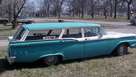 1959 Ford Ranch Station Wagon 292 CI, 3-Speed presented as lot T34 at Kansas City, MO 2011 - thumbail image2