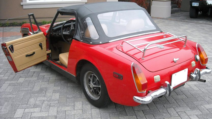1972 MG Midget 1275 CC, Manual presented as lot T50 at Kansas City, MO 2011 - image2