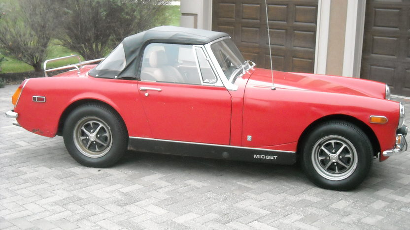 1972 MG Midget 1275 CC, Manual presented as lot T50 at Kansas City, MO 2011 - image3