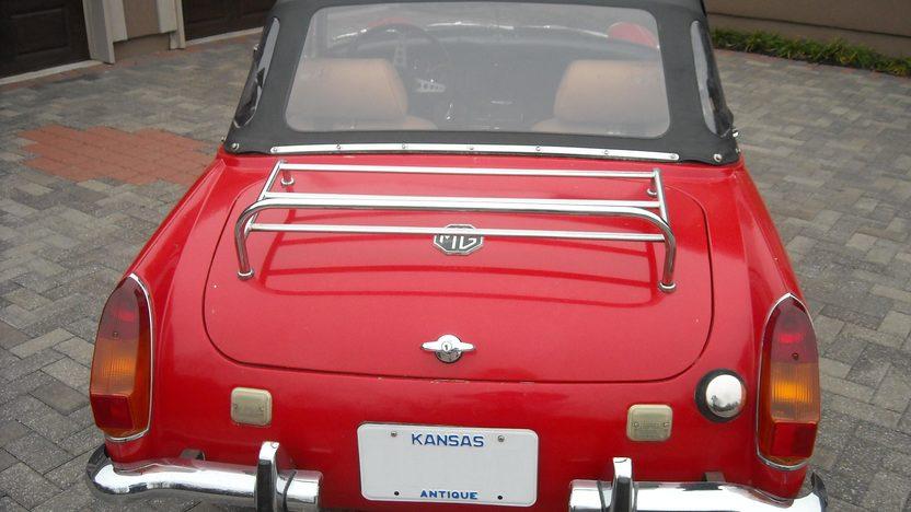 1972 MG Midget 1275 CC, Manual presented as lot T50 at Kansas City, MO 2011 - image4