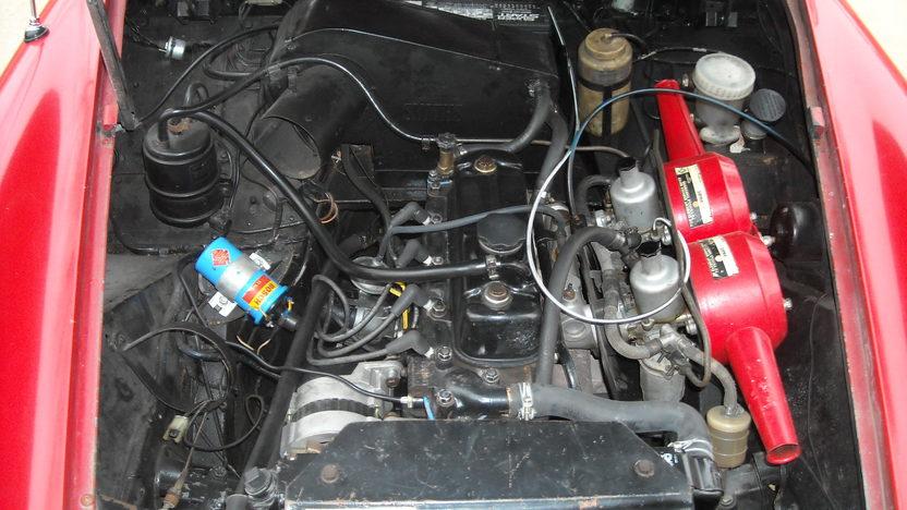 1972 MG Midget 1275 CC, Manual presented as lot T50 at Kansas City, MO 2011 - image6