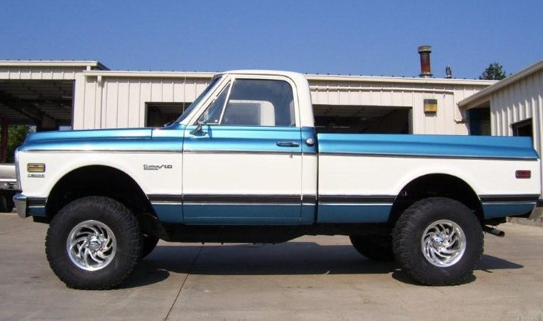 1972 Chevrolet C10 4x4 Pickup 350 CI, Automatic presented as lot T53 at Kansas City, MO 2011 - image2