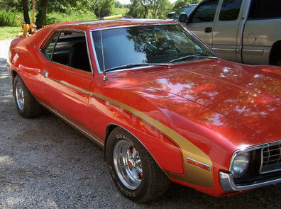1972 AMC Javelin 2-Door Hardtop 204 CI, Automatic presented as lot T54 at Kansas City, MO 2011 - image2
