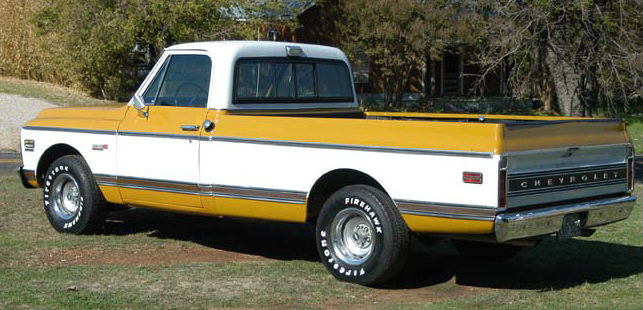 1971 Chevrolet 1/2 Ton Pickup 350 CI, Automatic presented as lot T57 at Kansas City, MO 2011 - image2