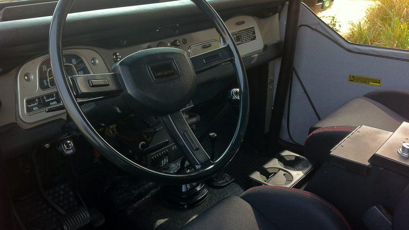 1975 Toyota Land Cruiser presented as lot T63 at Kansas City, MO 2011 - image4